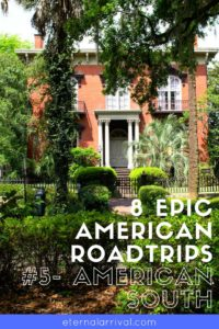 The American South is a bucket list road trip for the ages. Check out cute historic Charleston, South Carolina and Savannah, Georgia. Visit the coastline and cute funky beach towns along the way. More details and other itineraries on the blog!