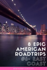 All the best bucket list road trips, including the East Coast US. Check out major cities like NYC and Philadelphia as well as the cute historic cities of Savannah, St. Petersburg, and more.