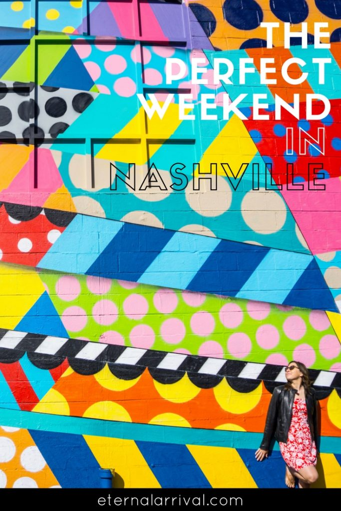 There are so many fun things to do in Nashville! Great Instagram spots, downtown bars, Music City, delicious food, street art & murals… your complete 3 day weekend Nashville itinerary is here!