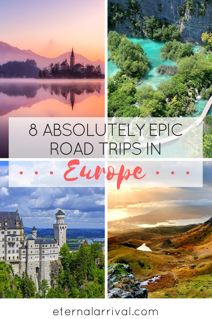 All the best Europe road trip inspiration for your bucket list - Slovenia, Croatia, Iceland, Scotland, Germany, Italy & beyond!