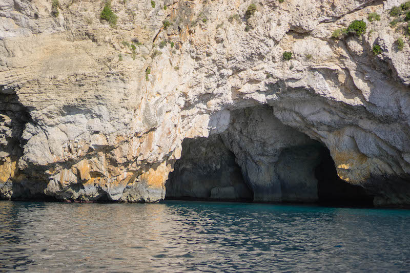 What to do in Malta in 3 days - The Blue Grotto is a must!