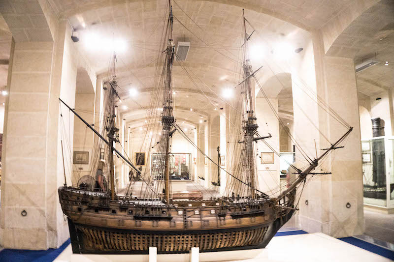 Spend some of your 2 or 3 days in Malta in the beautiful Maritime Museum