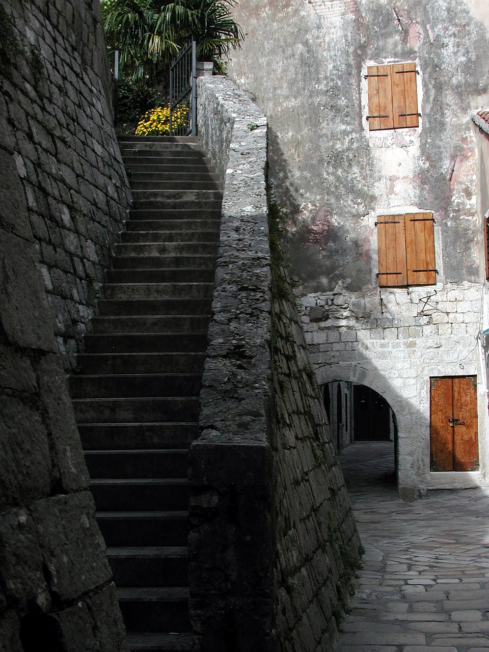 The Old City walls are a must see in Kotor