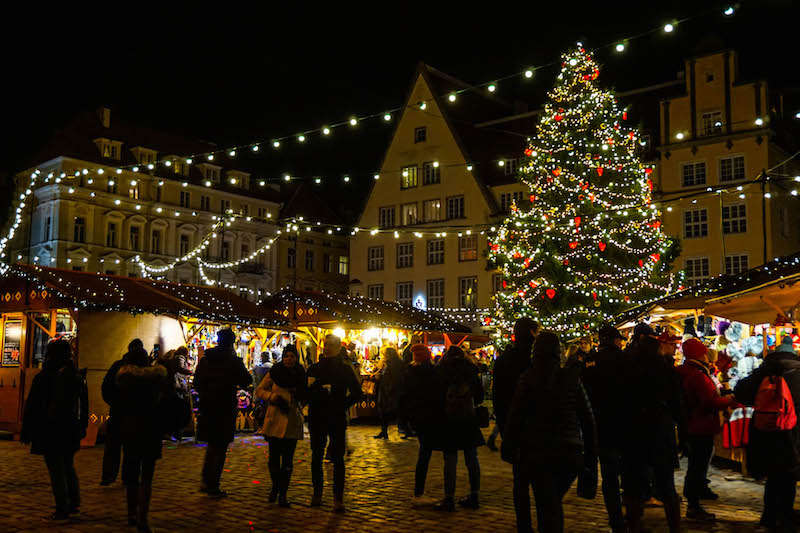 Christmas markets in Tallinn, a great reason to visit Tallinn in November!