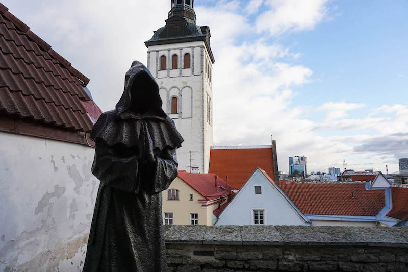 One of the weirdest places to visit in Tallinn, but with the best views!