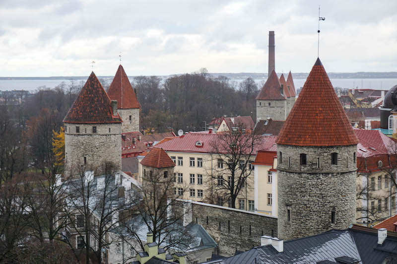 Visit Tallinn in the winter to see all the beautiful sights in Estonia