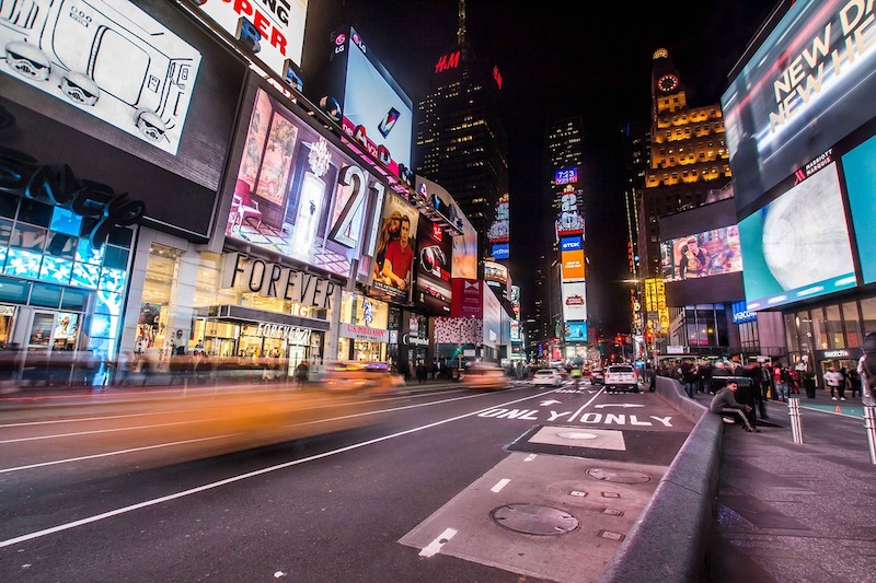 A must for New york newbies - Times square!
