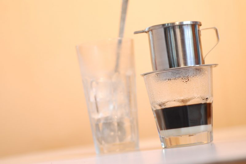 Start off your two days in Ho Chi Minh with coffee!