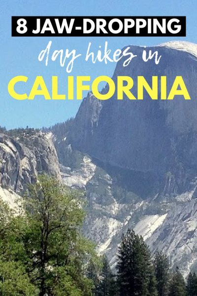 California is one of the most diverse and beautiful states in the US. These stunning California hikes are perfect for adventurers -- including Half Dome, Joshua Tree, and other gorgeous day hikes in California. Add these to your hiking bucket list!