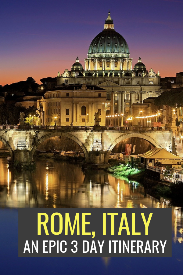 Only 3 days in Rome? This Rome itinerary will make the most of a weekend trip to Rome, from highlights like the Vatican to offbeat gems like hidden street art & local markets, this guide is full of Rome travel tips to help you skip the lines, avoid the crowds, & tick everything off your Rome bucket list for the perfect Roman holiday. Click to get started!