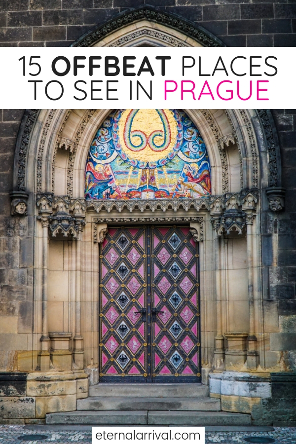 Want to see Prague off the beaten path? These unique things to do in Prague are rarely on any tourists' Prague itinerary, so check out my favorite local places in Prague (from someone who used to live in Prague!)