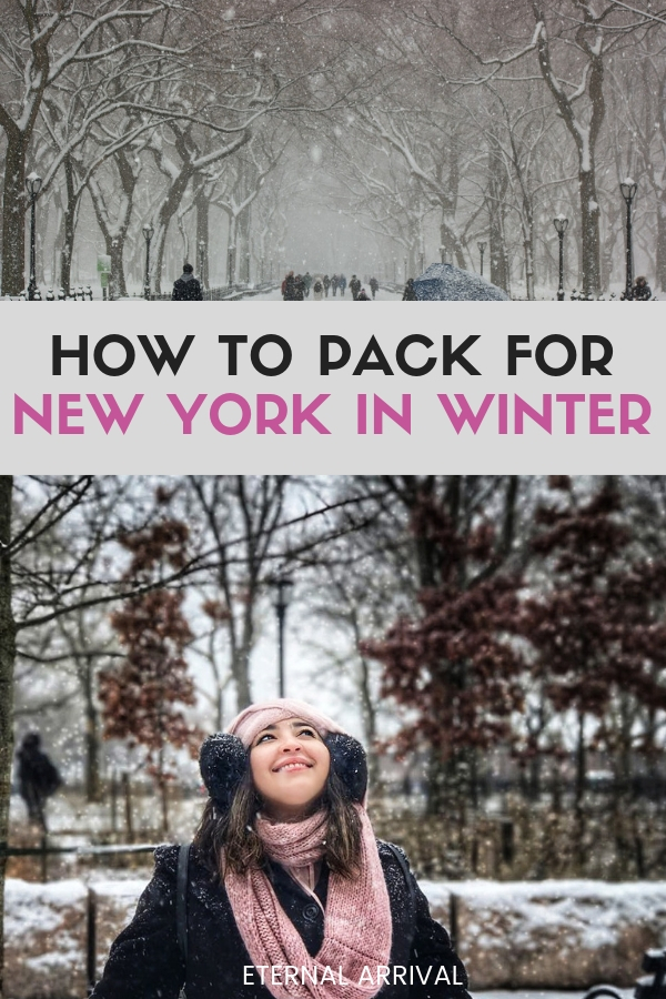 52da61e27980 New York Packing List (Winter Edition)  What to Wear in New York in ...