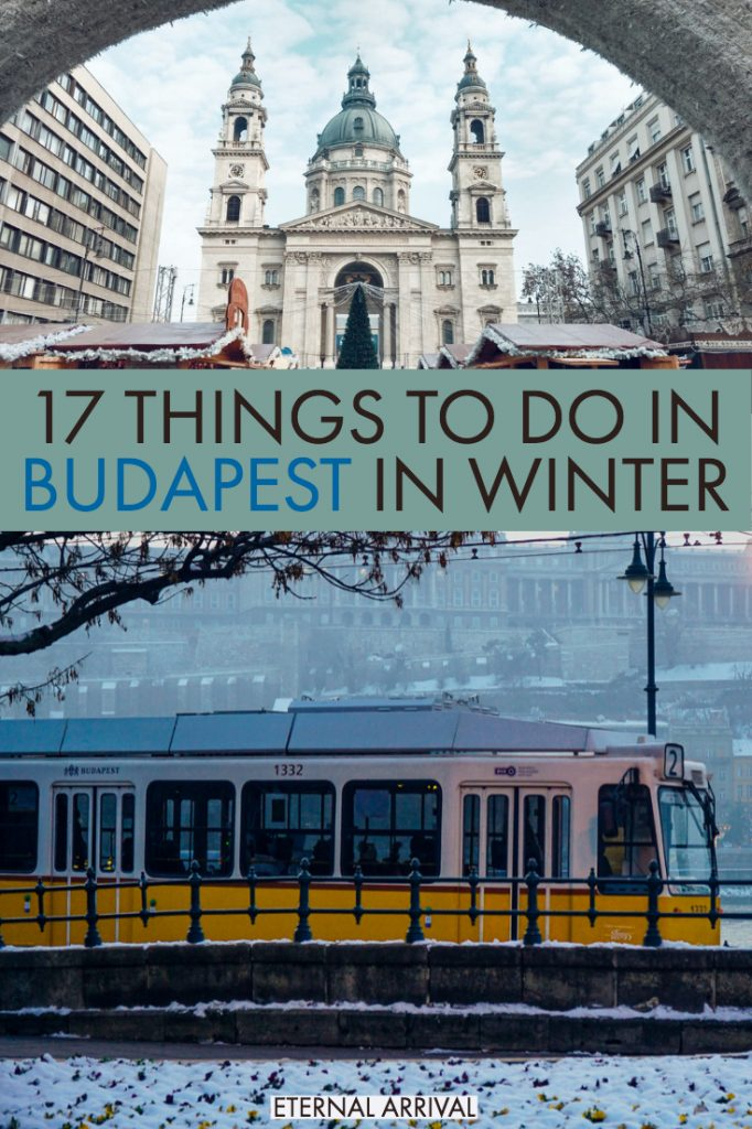 Planning a trip to Budapest in winter? Whether you visit Budapest in December to see the Budapest Christmas markets, or after the holiday season is over, winter in Budapest is magical. From thermal baths to delicious food, here are the best things to do in Budapest in winter, to help inspire your winter Budapest itinerary!
