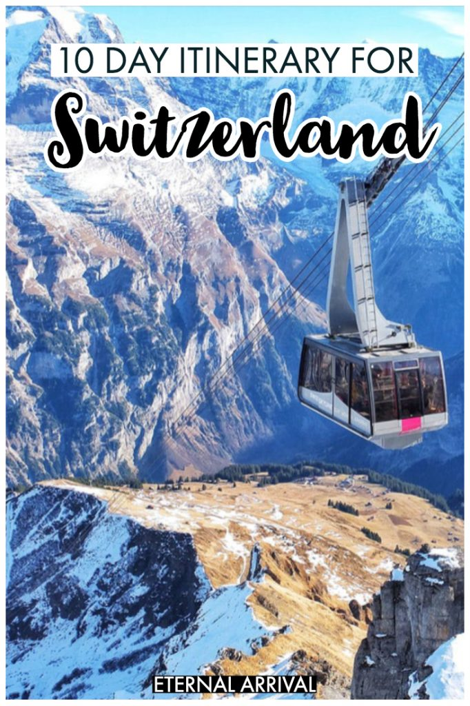 Want to travel Switzerland? After finding all the best places to visit in Switzerland, from cities to towns to mountains to lakes, I've picked the ultimate Switzerland itinerary for 10 days (or one week, if you are pressed for time). Complete with insider Switzerland tips, budget hotel recommendations, and recommended day trips, this itinerary for Switzerland is your ultimate guide!
