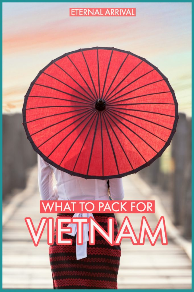 Wondering what to pack for Vietnam? I've got you covered with these Vietnam packing list for winter, summer, wet season and dry season. From the cool rainy weather of Sapa to the warm beaches in the south to the buzzy humid cities of Hanoi and Saigon, this is what to wear in Vietnam for women and men .