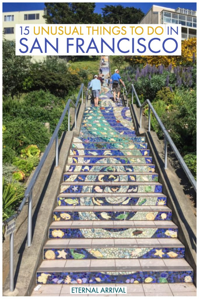 Want to move beyond the San Francisco top 10 and check out some of the more unusual things to do in San Francisco? This guide will help you plan the best off the beaten path San Francisco, full of SF hidden gems, secret spots, local favorites, and beautiful San Francisco photography spots. This San Francisco travel guide will help you avoid tourist traps and discover SF - through a local's eyes!