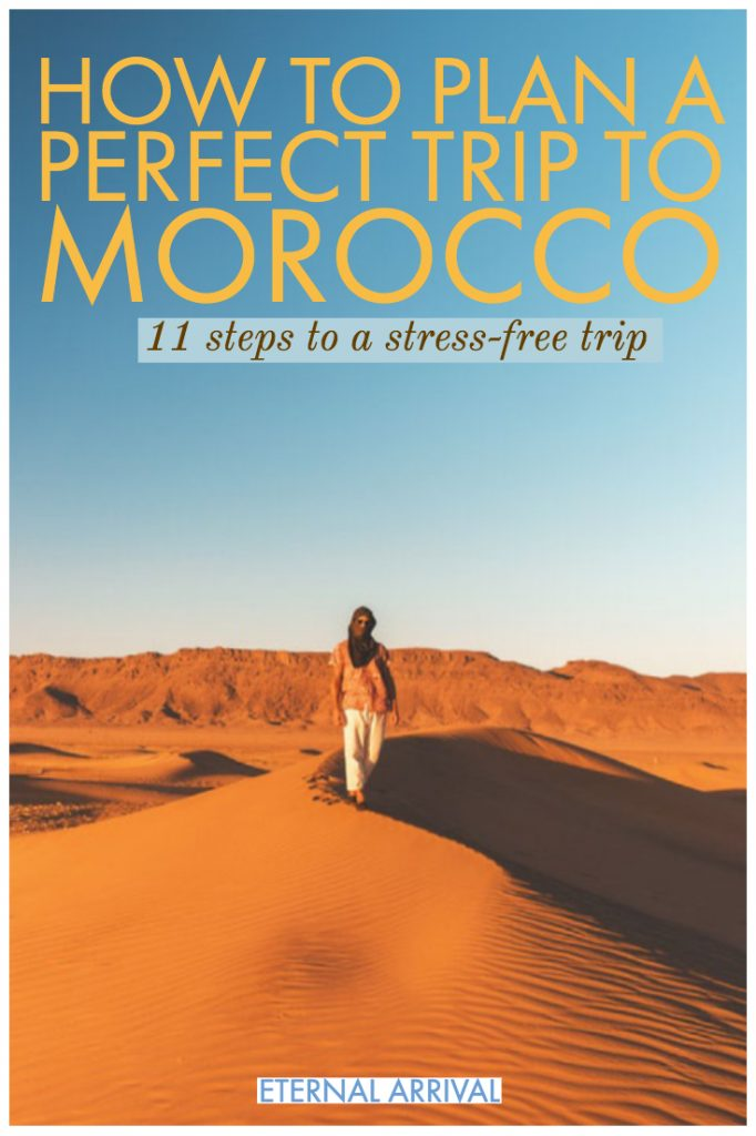 Planning to travel Morocco? Here are my best Morocco tips, from what to wear in Morocco, to an ideal Morocco itinerary covering Marrakech, the Sahara desert, Fez, Chefchaouen, Tangier & Casablanca. 