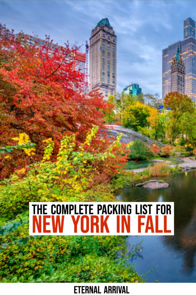 Not sure what to wear in New York in fall? This fall New York packing list will help you decide what to bring. Complete with fall in New York outfit ideas and fashion tips, this packing list for New York in fall also covers your basic NYC travel necessities and must-haves, as well as recommended guidebooks, products, and fall clothing. It's all you need to plan the perfect fall trip to New York City!