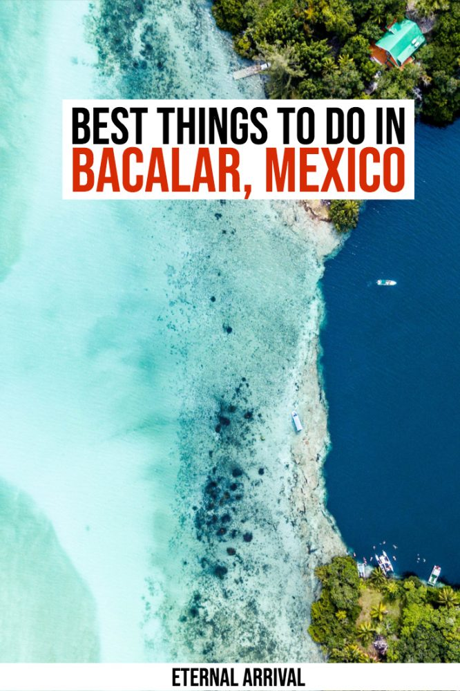 Planning to visit Riviera Maya Mexico? Get off the beaten path in Mexico and visit Lake Bacalar, the lake of seven colors. Bacalar is 3 hours from Tulum and makes a perfect place to visit in Mexico if you want something different. Here are the best things to do in Bacalar!