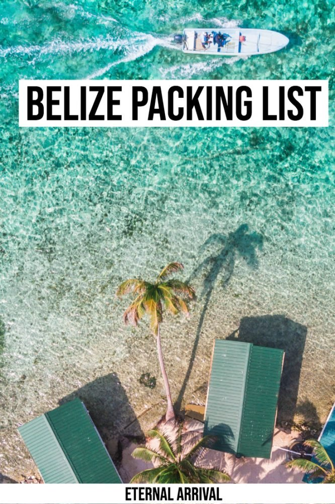 Wondering what to pack for Belize? This guide to what to wear in Belize will be your ultimate Belize packing list! Tips on what to wear on Belize's beaches and islands, what not to forget to bring to Belize, and other Belize packing tips.
