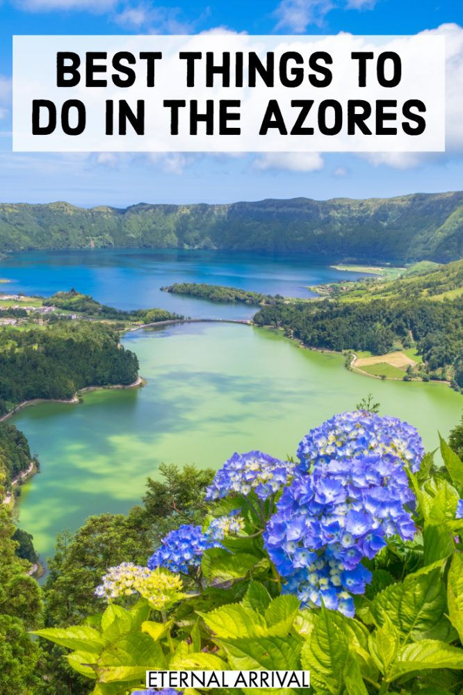 Going to visit Azores, Portugal? This guide to the best things to do in the Azores Islands (with a focus on the best things to do in Sao Miguel) will be your guide. Create the perfect Azores itinerary with all of these awesome Azores activities and places to visit in the Azores, from Ponta Delgada to Sete Cidades to Furnas. Including Instagram + photography spots like beaches, lakes, hot springs, and flowers!