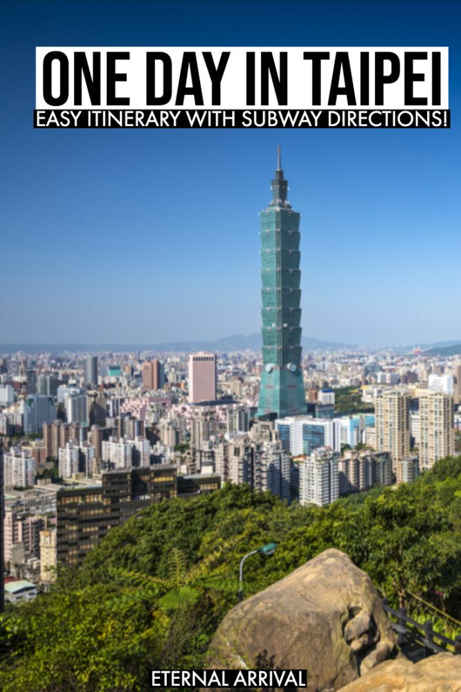 Planning a short visit to Taipei? This guide to the best things to do in Taipei in a day is for you! This Taipei layover guide will help you maximize your Taipei itinerary, from Taipei 101 to the night markets to photography & Instagram spots to shopping to hiking Elephant Mountain & everything in between!