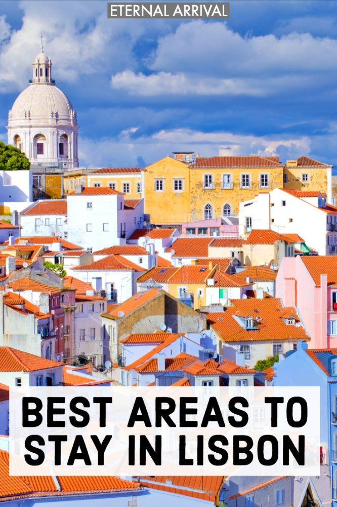 Planning to travel Lisbon? Here is a guide to the best Lisbon neighborhoods and where to stay in Lisbon, from Alfama to Bairro Alto to Principe Real to Chiado to Cais do Sodre & beyond. Whether you want to be near the best things to do in Lisbon, the best restaurants, shopping, nightlife, or architecture, here are my tips for the best areas to stay in Lisbon, best hotels in each Lisbon neighborhood, & other Lisbon travel tips.