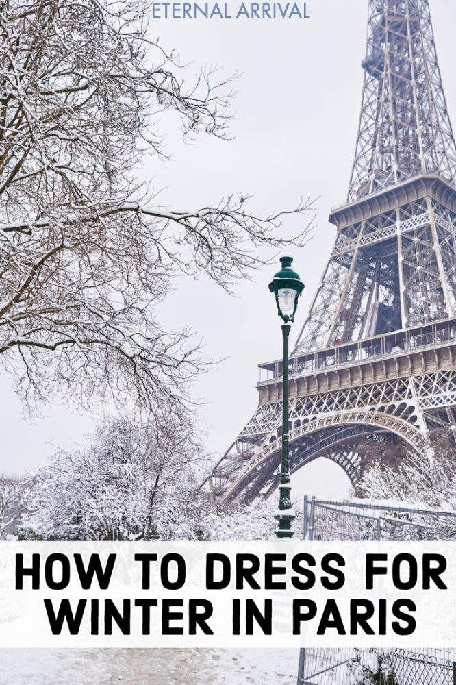 Planning to spend winter in Paris, but don't know what to pack? Here's what to wear in Paris in winter, a female Paris packing list perfect for winter travel. This winter in Paris packing list will keep you cozy and chic, whether you're visiting Paris at Christmas, in December, January, or February. These Paris packing tips and Paris winter outfit ideas will keep you warm yet fashionable and stylish!