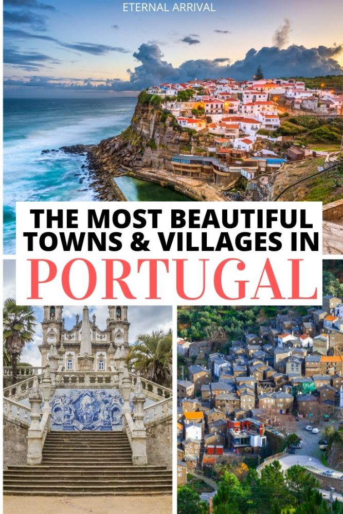Want to visit Portugal? This guide to the cutest towns in Portugal and pretty villages in Portugal will help you see Portugal off the beaten path of Lisbon and Porto. Plan the perfect Portugal road trip or Portugal itinerary with this guide to cute Portuguese villages, from Madeira to the Algarve and beyond!