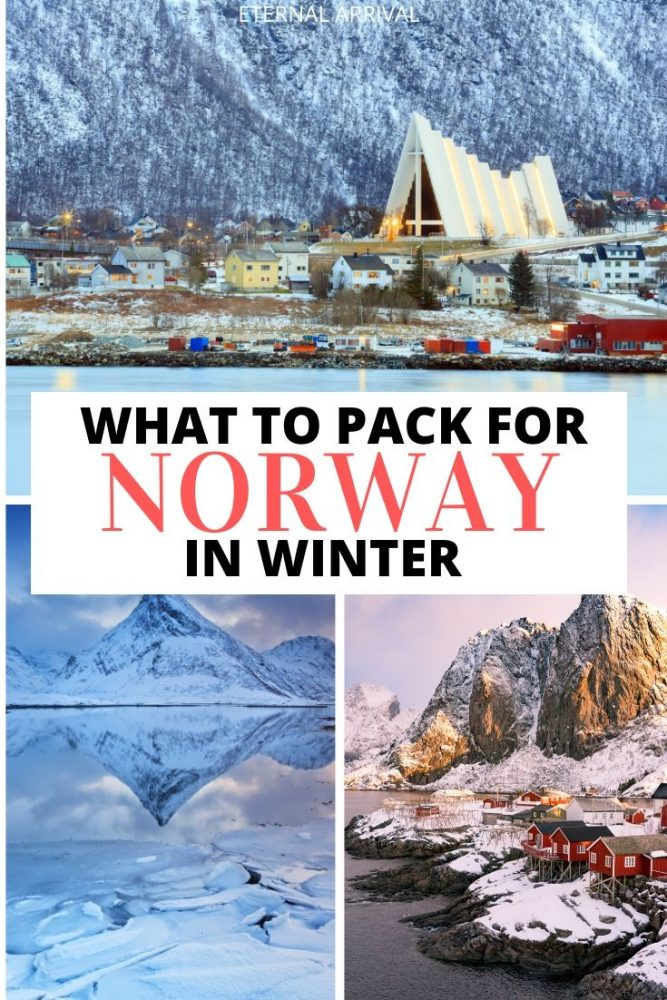 Wondering what to pack for Norway in winter? This Norway winter packing list will help you pack for Norway in winter. Including Norway winter outfit ideas, tips for how to pack for Norway, things to bring to Norway in winter, and tips for Norway jackets, boots, etc., this guide to packing for Norway in winter is your ultimate Norway winter travel companion!