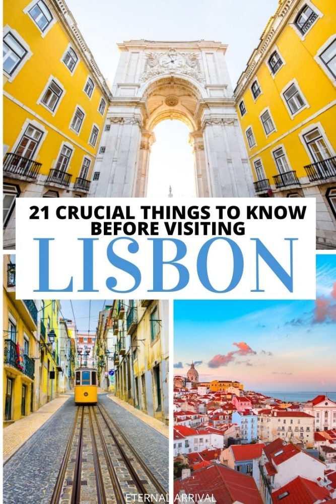 Planning to visit Lisbon, Portugal? This guide to visiting Lisbon for the first time is full of local tips for making the most of Lisbon. Safety, what to eat, where to stay, when to go, & the best things to do in Lisbon are all covered in this Lisbon travel guide!