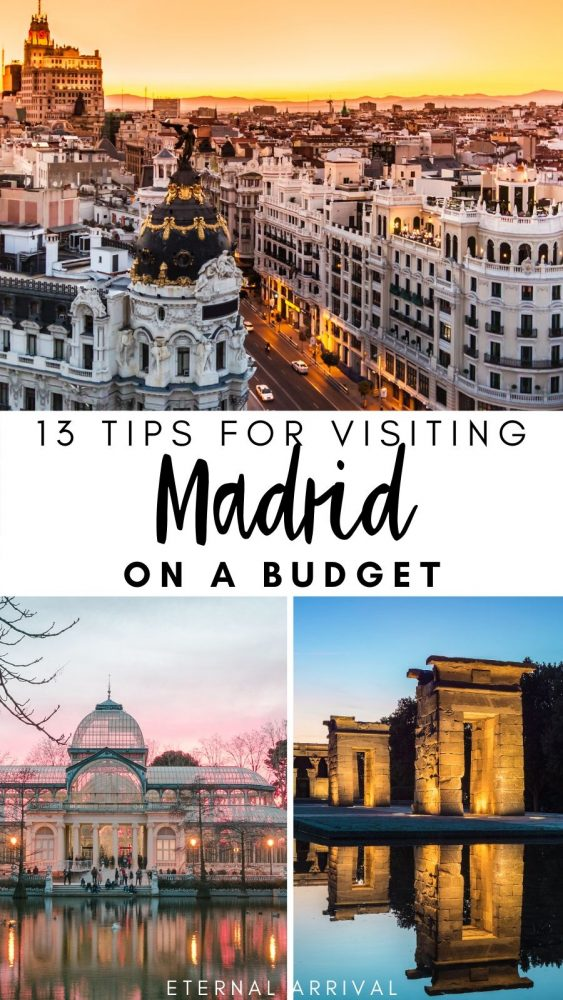 Planning to visit Madrid, but have a tight budget? This guide to visiting Madrid on a budget includes tips for where to eat in Madrid cheaply, where to stay in Madrid, free and cheap things to do in Madrid, and other essential Madrid travel tips.