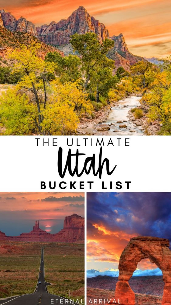 Planning a trip to Utah? This Utah bucket list details the best things to do in Utah, the best places to visit in Utah, and must-see Utah landscapes and Utah nature for a memorable trip. Use this for your Utah itinerary baseline or as a lifelong Utah must do list.